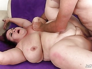 Fat Mature Redhead Lady Lynn Gets Her Plump Pussy Railed