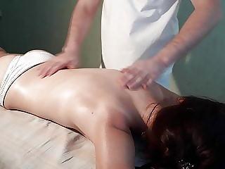 Skinny modesty girl visited my massage. Best Russian Massage