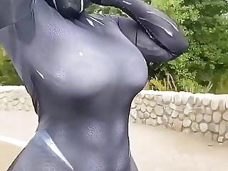 Phat ass cosplay girl