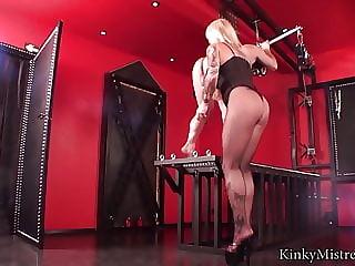 German Femdom Mistress Strapon