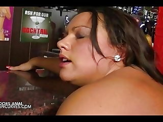Lucy Love gets it anal at the pub