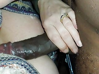 Hotwife Ms southjerzeecpl & new BBC friend hot cum shot