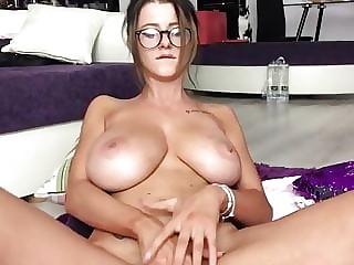 Big Tits College Girl Masturbates