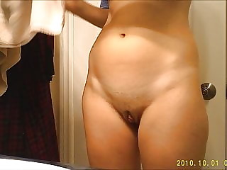 Step sister after a hot shower