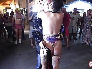 Young Sluts Flashing Streets Fantasy Fest NEW