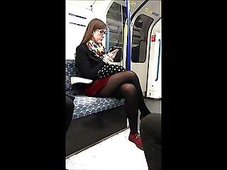 Candid Miniskirt Stocking Tops