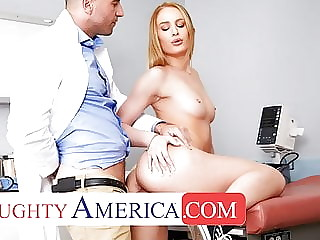 Naughty America - Daisy Stone needs her Pussy checked by Doc