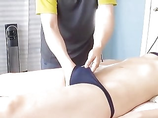 Pelvis massage (with bad music in the background)