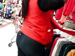 Voyeur embarazada pantalon