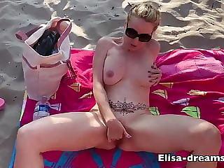 Bukkake at beach 39 CUMSHOTS