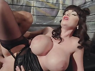 Black Stockings Burlesque CAROLYN LOVE Hard Fucking