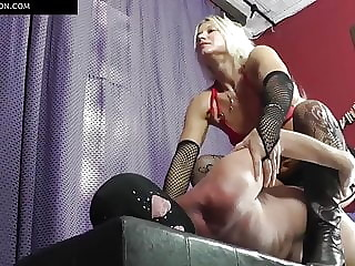 a new idea Mistress Strap-on hard