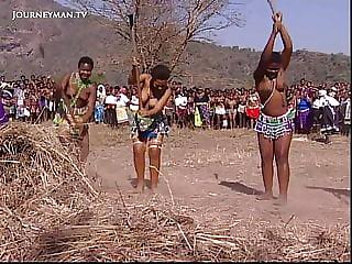 African tribal culture big natural Ass.