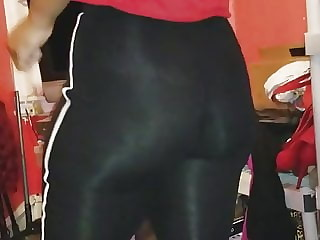 Ass in spandex
