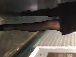 Too sexy girl very very short dress
