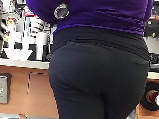 Sexy BBW Pawg Grey Slacks