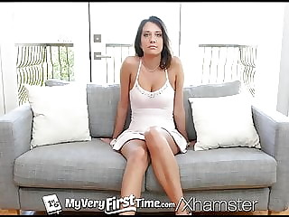 MYVERYFIRSTTIME First Time Interracial Fuck With Big Dick