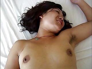 Cute hairy asian violeta, ready for sex