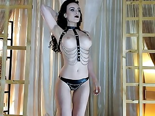 Teasing in Leather and Chains