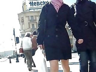 Spy Upskirt Pantyhose