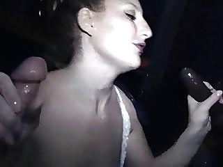 Gloryhole Blonde Lila Sucks Cum Out Of Many Strange Cocks