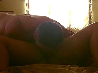 BBW Gets Pussy Licked and Orgasms
