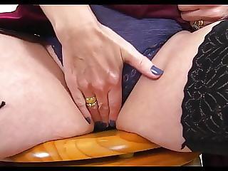 Mature pussies in panties 5