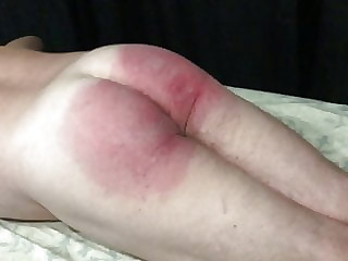 A Strapping from Miss Jenn - Stroke after stroke