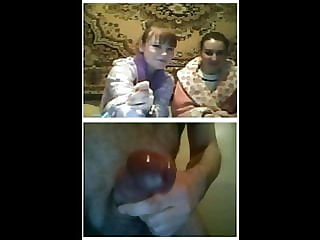 Videochat 85 Girls reactions to my sudden dickflash
