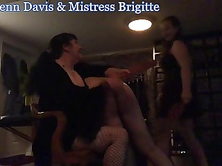 Miss Jenn Davis & Mistress Brigitte Double the Spanks 3