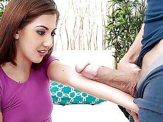 Needy Addison Rich Rides and Stuffed by XXL Cock