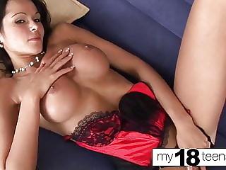 MY18TEENS - Big Booty Teen Fingering Wet Pussy