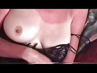 Wife's tits and pussy
