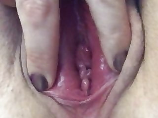 Welsh slut showing off her cheating pussy