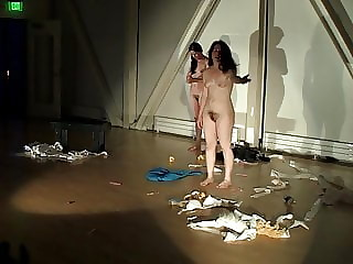Paige Starling Sorvillo nude on stage