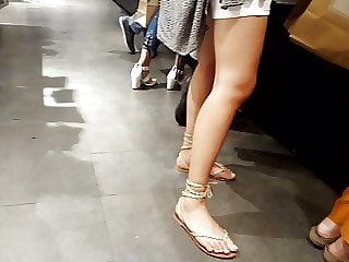 girl sexy legs, sexy hot feets in sandals