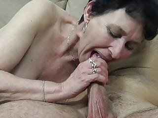 Old grandma needs a hard cock