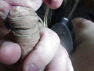Playing with lovers cock