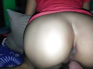 Indonesian sexy ass GF
