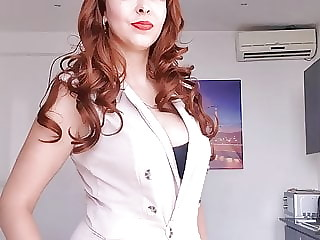Mistress will teach you to suck and fuck strapon