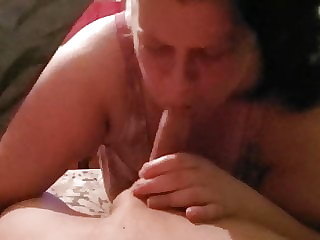 bbw friend giving me head