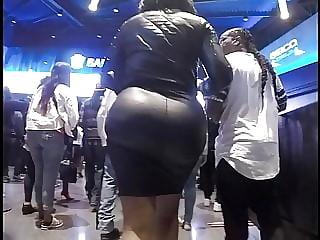 black big booty skirt