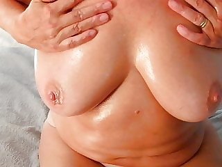 Alice's oiled tits