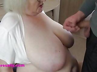 A Mature Sally big tits cumpilation