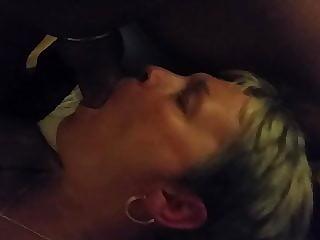 Blow job .with vibrator in cunt .big tit Milf