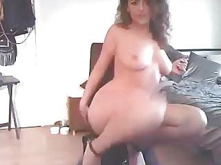 Curly haired slut minx