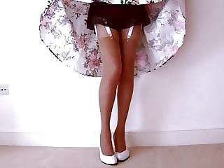 Satin And Lace French Knickers