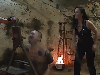 Slave Training femdom Spitting Whipping