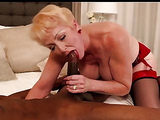White Women Lusting Over Young Black Men. Gilf Seducing BBC