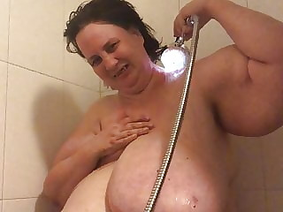 Me in shower 2